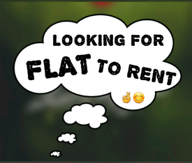 Looking for flat to rent ( up to £ 950 pm )