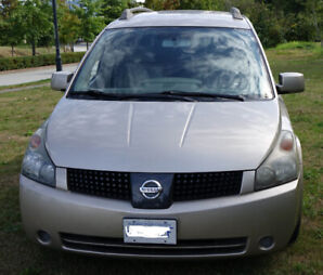 2005 Nissan Quest SL 7P mini van great condition