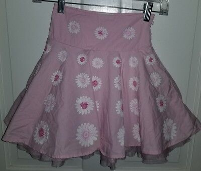 The Childrens Place pink floral sequined tulle petticoat full skirt. 5](The Pink Petticoat)