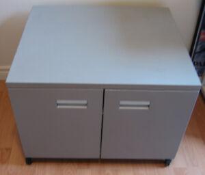 Rolling steel cabinet