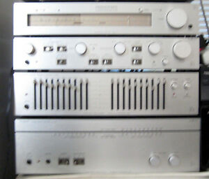 Luxman 120A complete component system with a Luxman T-1 tuner