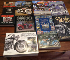 Harley Davidson and Other Motorcycyle books various prices