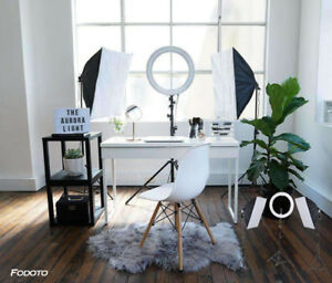 "LED Diva Ring Light + Softbox Lighting Kit ""ON SALE"""