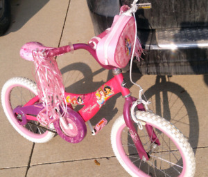 """Cute and reliable Huffy Pricess Shimmer 14"""" Girls Bike"""