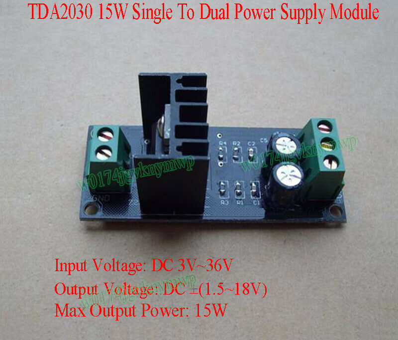 Power Supply Positivenegativeground From A Single Power Supply