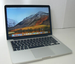 MacBook Pro Retina Intel Core i5 8gbram 128ssd IRIS display
