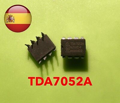 Tda7052a Tda7052 Mono Audio Amplifier Dip-8 Fast Postage From Spain
