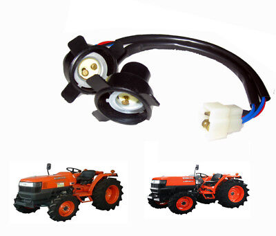 Use For Kubota Tractor L 2808 3010 3408 3700 4508 Head Lamp Head Lights Sockets