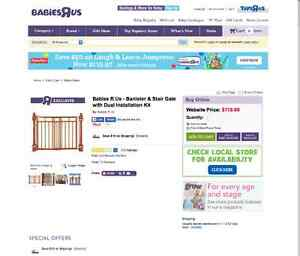 buy or sell gates monitors in kamloops baby items kijiji classifieds. Black Bedroom Furniture Sets. Home Design Ideas
