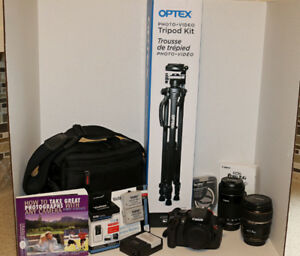 Canon EOS Rebel T4i DSLR package