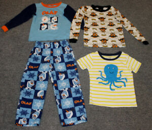 SIZE 5 BOY'S CLOTHES EVERYTHING IN THE PICTURE FOR $4