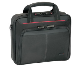 Targus Classic Notebook Case, Polyester, Black & Red, (CN31US)