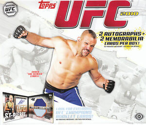 UFC Trading Cards 3 Complete Sets!