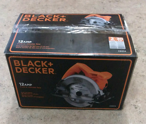 Black & Decker 12 Amp 7-1/4 Circular Saw With Extra Blade