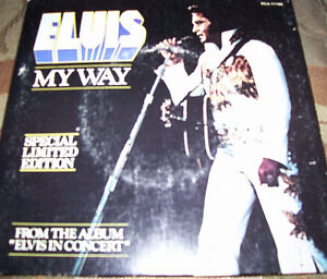 Collection of 5 Elvis 45's with Picture Covers London Ontario image 2