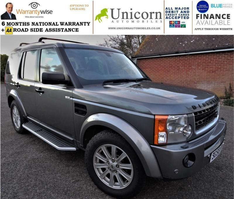 2008 Land Rover Discovery 3 2.7TD V6 Auto SE Leather