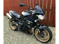 TRIUMPH STREET TRIPLE 675R - SUPERB EXAMPLE WITH EXTRAS + SERVICE HISTORY - PX