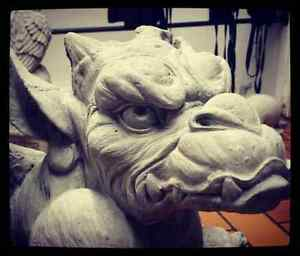 Concrete Gargoyle Statues for sale