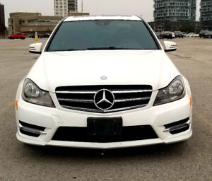 2014 Mercedes Benz C300 4Matic - Sports Package - LOW KMS - Mint