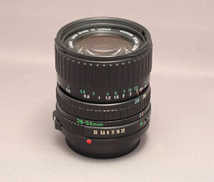 Canon FD 28-55mm 1:3.5-4.6 Vintage Zoom Lens