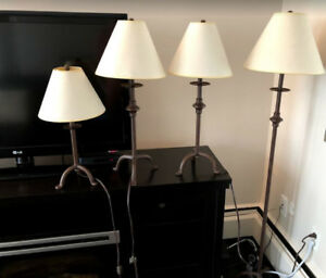 Lamps – set of 4  $50
