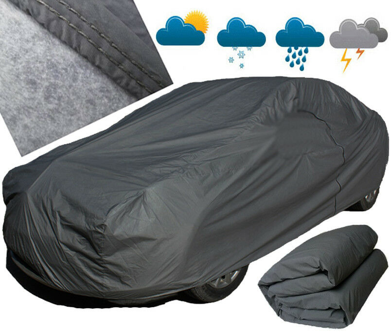 A-Express/® 100/% Waterproof Extra Large XXL Outdoor Breathable Layers Full Car Cover