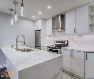 Special package : $1899 for quartz countertop up to 40 sq.ft with installation