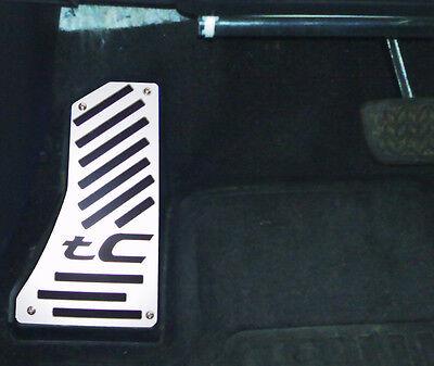 2005- 2010 Scion tC Dead Pedal Cover - custom plate billet aluminum