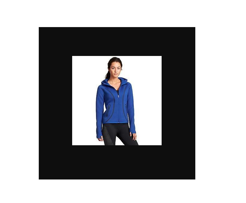 NWD Athleta Fuse Hoodie Jacket - Admiral Blue SIZE S     #242921 E321