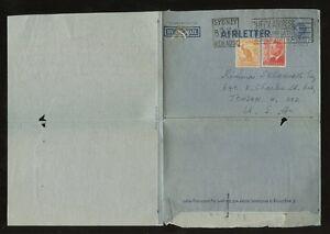 AUSTRALIA-STATIONERY-AEROGRAM-7d-3d-1952-LETTER-RUSSIAN-AMERICAN-PHILATELIST