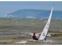 Laser radial and 4.7 sail number 180470