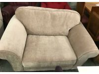 Fabric Love Seat Armchair