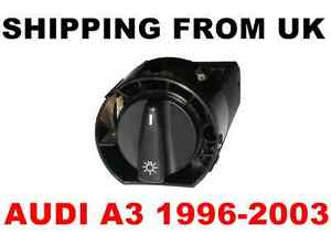HEADLIGHT & FRONT / REAR FOG LIGHTS SWITCH CONTROL UNIT for AUDI A3 1996-2003