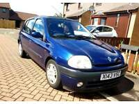 Renault clio very low miles ONLY 23k