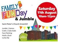 Jumble and Family fun day