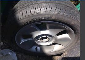 X2 Tyres 195 50 15 195/50 R15 Of Fiesta On Alloy Rims