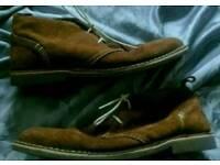 Men's desert boots by howick