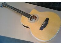 Acoustic bass guitar 5 strings