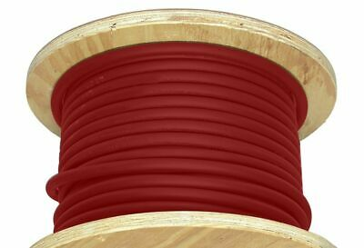 150 6 Awg Welding Cable Red Copper Conductor Flexible Battery Wire 600v