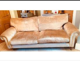 LAURA ASHLEY 3 seater sofa - villandry champagne
