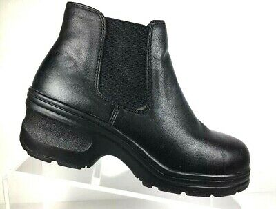IRON AGE Men's Work Boots Steel Toe Size 7.5 M PT 99