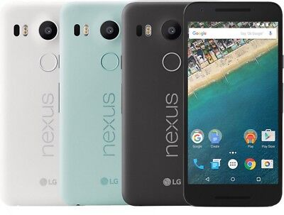 "LG Nexus 5X H791 16GB r (Unlocked) GSM Cell Phone SmartPhone 5.2"" AT&T T-Mobile"