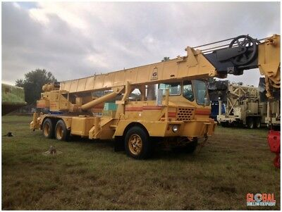 Grove Tms-250 25-ton Crane