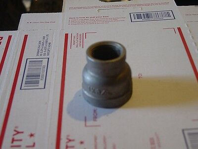 Stainless Steel Reducer Coupling 1 X 34 Npt Pipe 150 Psi