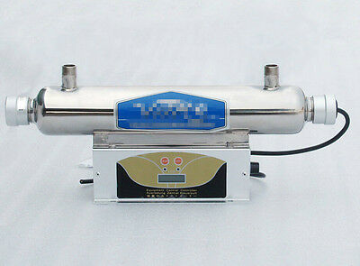Uv sterilizer, Pure water Clarifier purifier for home lab&med use 2000l/hour