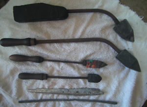 Vintage Copper Tipped soldering irons and solder. Samson Fremantle Area Preview