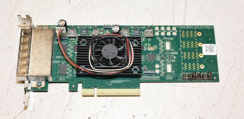 """DELL DSSD """"THE DEUCE"""" IVT2 000308-01 PCIE 4 Port Evaluation Board"""
