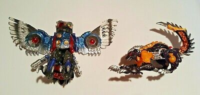 Vintage Transformers Beast Wars - Transmetal Prowl and Unknown - 1998