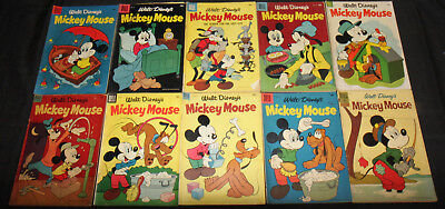 GOLDEN AGE MICKEY MOUSE COMIC LOT 22PC (F-F+)
