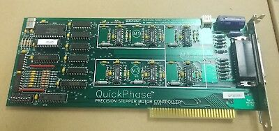 Microkinetics Corp Quickphase 3 Axis Precision Stepper Motor Controller Isa Card